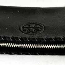 Tory Burch Black Leather Clutch Wallet Photo