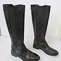Tory Burch Black Tall Leather