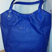 Tory Burch Blue Tote Photo