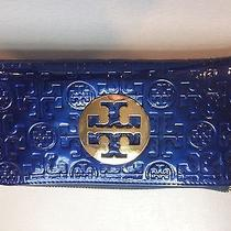 Tory Burch Blue Wallet Photo