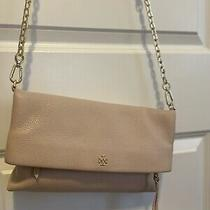 Tory Burch Blush Chain Fold Over Gold Chain Crossbody Bag - Medium Photo
