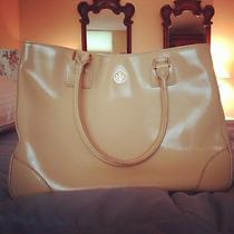 Tory Burch Blush Leather Robinson Tote Photo