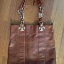 Tory Burch Brown Leather Shoulder Bag or Purse Photo