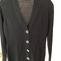 Tory Burch Cardigan Sweater Blavk  Photo