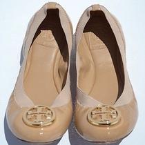 Tory Burch Caroline Nude Ballet Flats Size 7.5 Photo