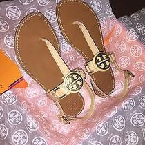 Tory Burch Cassia Flat Thong Size 8 Nude / Sand / Camilla Pink Photo