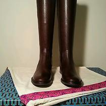 Tory Burch Christy Riding Boots Sz 5.5 Photo