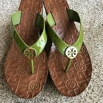 Tory Burch Cork Wedge Sandals Size 7 Photo