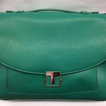 Tory Burch Corss Body With Handle in Green Photo
