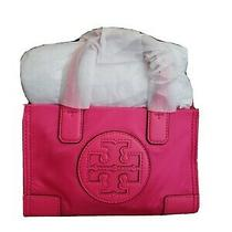 Tory Burch Crossbody Ellla Micro Tote Hot Pink Nwt Photo