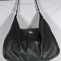 Tory Burch Dakota Black Hobo Shoulder Bag Photo