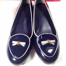 Tory Burch Dakota Loafer-Patent Calf/ballet Bright Navy/smooth Blue Size 8 Photo