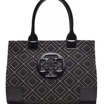 Tory Burch Ella Quilted Tote Black Photo