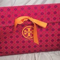 Tory Burch Extra Large  Gift Bag With Bow  Photo