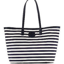 Tory Burch (Hand Bag)  Marion Nylon Tote Classic Awning Stripe  Photo