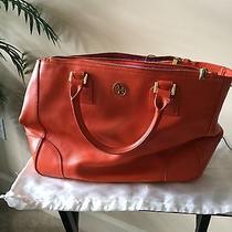 Tory Burch Handbag Orange Photo