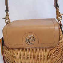 Tory Burch Lacquered  Rattan  Handbag   395.00 So Darling & Sold Out Photo
