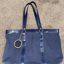 Tory Burch  Large Tote - Blue Photo