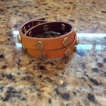 Tory Burch Logo Studded Wrap Bracelet Photo