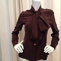 Tory Burch Long Sleeve Blouse Photo
