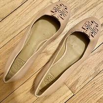 Tory Burch Lowell 2 Leather Ballet Flats Blush 6.5  Photo