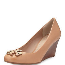 Tory Burch Lowell Natural Blush Wedge - Size 9 - Ret. 275 - Worn Once Photo