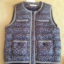 Tory Burch Macy Vest Size 6 Photo