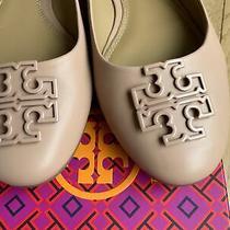 Tory Burch Melinda Leather Flats Ballerina Light Beige Makeup Size 8.5 258  Euc Photo