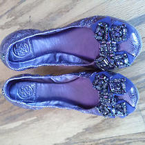 Tory Burch - Metallic Purple Flats  Photo
