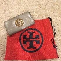 Tory Burch Metallic Wallet Photo