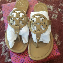 Tory Burch Miller Sandal Authentic Size 9.5 Sand Photo