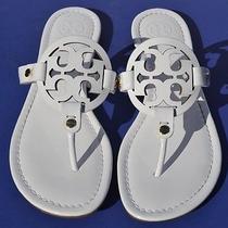 Tory Burch Miller White Flip Flop Sandals Size 6.5 Photo