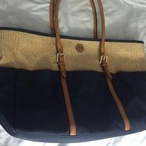 Tory Burch Navy Tote Photo
