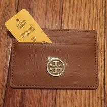 Tory Burch New Robinson Slim Card Case --- New With Tags. Retail 85 Plus Tax Photo