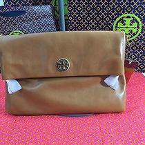 Tory Burchnwt-Dena  Messenger  Tote Bag-Ret.  365-W/dustbag -Luggage Color Photo