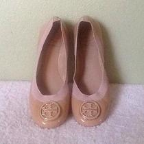 Tory Burch Patent Leather Ballet Flats Size 7.5 M Photo