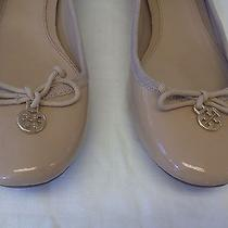 Tory Burch Patent Soft Leather Low Heel Pumps Sz 9m Photo