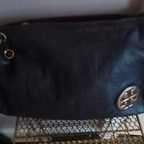 Tory Burch Purple Leather Hobo Shoulder Bag  Photo