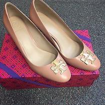Tory Burch Raleigh Pump Sz 9 Blush Oak (Nude) Photo