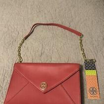 Tory Burch Red Envelope Clutch/handbag Photo