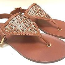 Tory Burch Regan Flat Thong Sandals Size 5.5m 225 Sold Out Photo