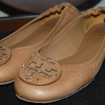 Tory Burch 'Reva' Ballerina Flat Size 6  Photo