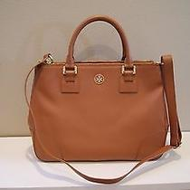 Tory Burch Robinson Double Zip Tote Luggage Like New Photo