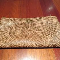 Tory Burch Rose Gold Color Clutch  Photo