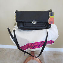 Tory Burch Sammy Messenger Black Bag New Photo