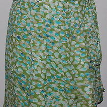 Tory Burch Silk Wrap Skirt Size 0 Photo