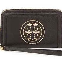 Tory Burch Smartphone Wrist Handbag Black Amanda  Photo