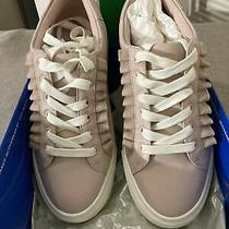 Tory Burch Sport Ruffle Sneaker Shoes Blush Pink Size 5.5 Photo