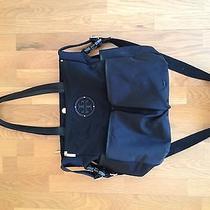 Tory Burch Stacked Logo Billy Baby Bag - Diaper Bag - Black Photo