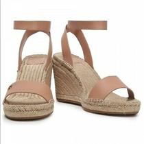 Tory Burch Strap Wedges With Blush Nude Straps Photo